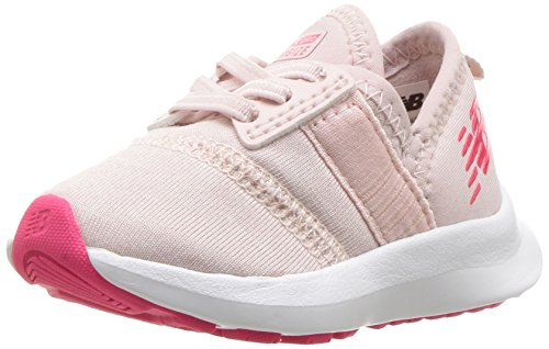 Image of New Balance Girls' Nergize V1 FuelCore Cross Trainer, Conch Shell, 2 M US Little Kid