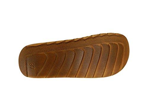 Franken-sko Kvinners Tresko -helma Aprikos Aprikos