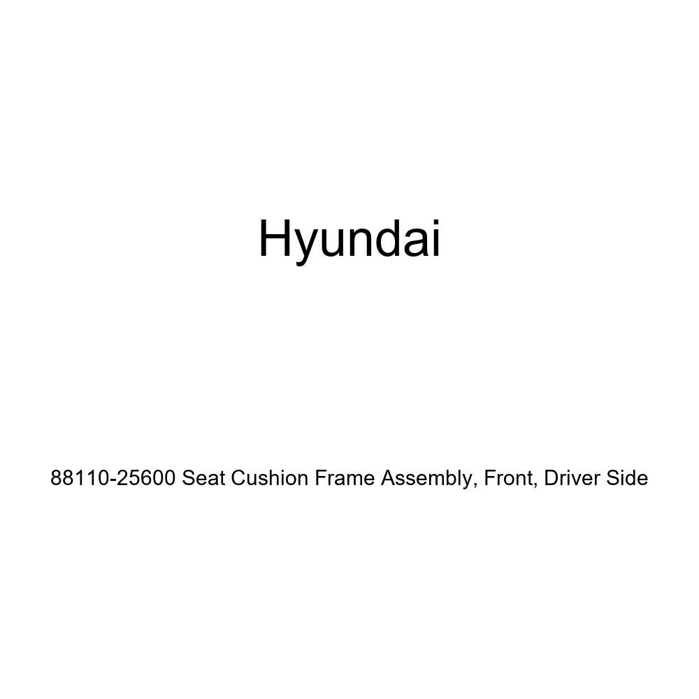 Front Genuine Hyundai 88110-25600 Seat Cushion Frame Assembly Driver Side