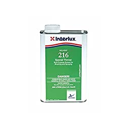 Interlux Boat Paint Special Thinner Solvent 216 Quart