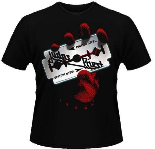 T-Shirt, JUDAS PRIEST-BRITISH STEEL-alle Größen