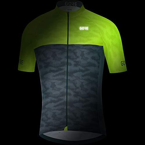 Amazon.com   GORE WEAR C3 Men s Cycling Short Sleeve Jersey   Clothing 4245e6d07