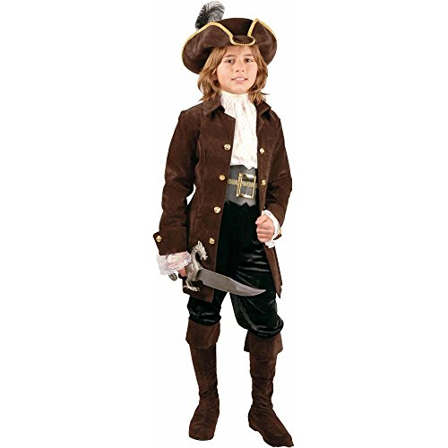 Kid's Carribean Pirate Costume (Sz:Preteen 12-14) by brandsonSale