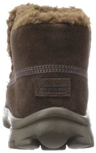 Skechers on-the-GO Chugga - Botines planos, color: Braun (Choc) marrón - Braun (CHOC)