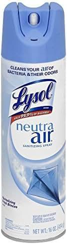 Air Fresheners: Lysol Neutra Air