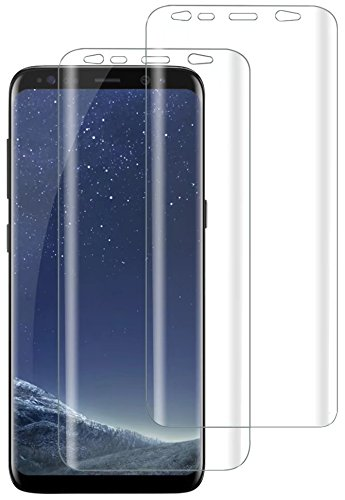 TOCOL cdy-056 [2 Pack] Tocol Samsung Galaxy S8 Plus Screen Protector [Case Friendly][Not Glass][Full Coverage][Wet Application] HD TPU Anti-Bubble Film [Lifetime Replacement Warranty]
