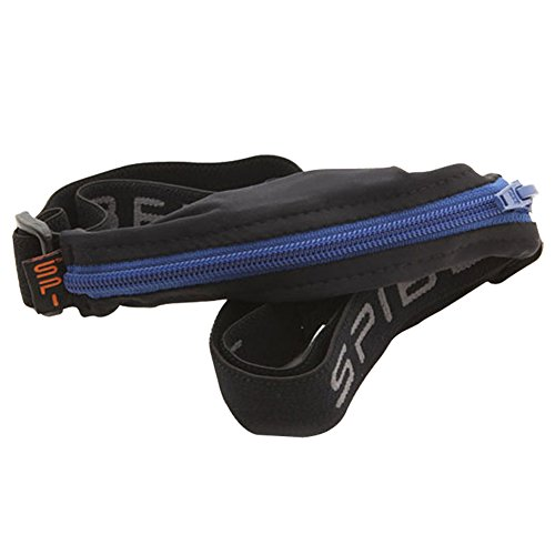 SPIbelt Large Pocket (Black with Blue Zipper, 25'' Through 47'') by SPIbelt (Image #7)