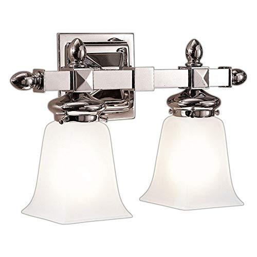 (Hudson Valley Lighting 2822-PN Cumberland 2 Light Bath And Vanity Polished Nickel)
