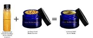 24 Karat Gold and Collagen Arabian Face Mask, Pack of 4