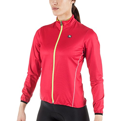 Giordana 2017/18 Women's Fusion Cycling Jacket - GICW16-WJCK-FUSI (Pink - (Giordana Cycling Jacket)