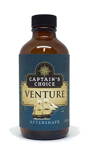 Captain's Choice VENTURE Aftershave - 4 oz.