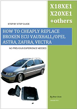 HOW TO CHEAPLY REPLACE BROKEN ECU VAUXHALL/OPEL ASTRA