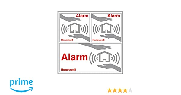 Honeywell Alarma Ventana Pegatinas 3 piezas HS3WS2S