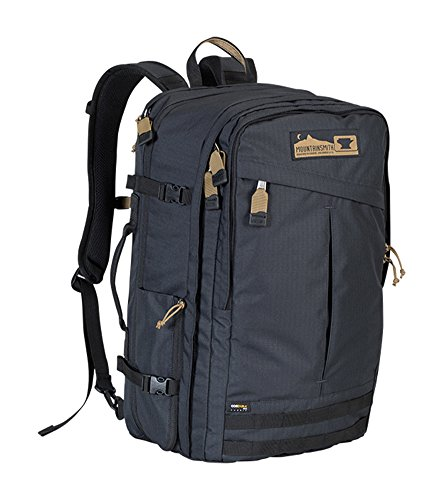 (Mountainsmith Continental Travel Backpack, Heritage Black, One Size)