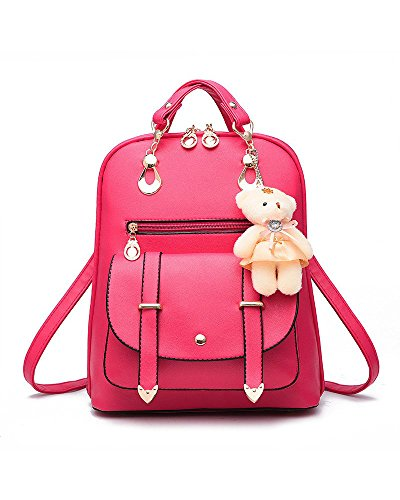 Hellocolorcc - Bolso de Mochila Mujer Rosy