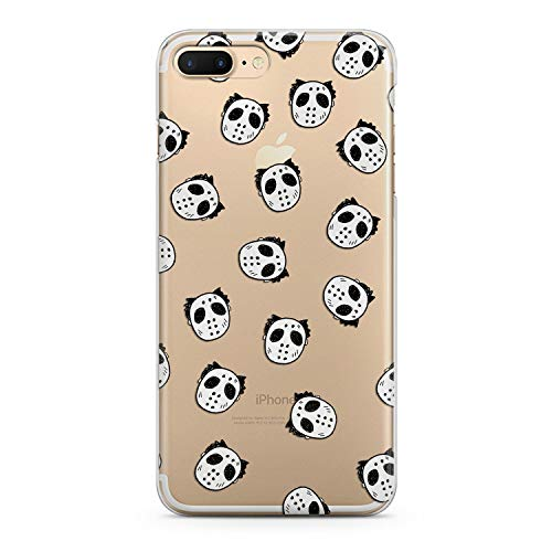 Lex Altern New Case for iPhone Xs Max Xr X 8 Plus 7 6s 6 SE 5s 5 TPU Clear Creative Cute Jason Mask Silicone Apple Funny Phone Cover Print Protective Lightweight Flexible Soft Stylish Smooth Theme ()