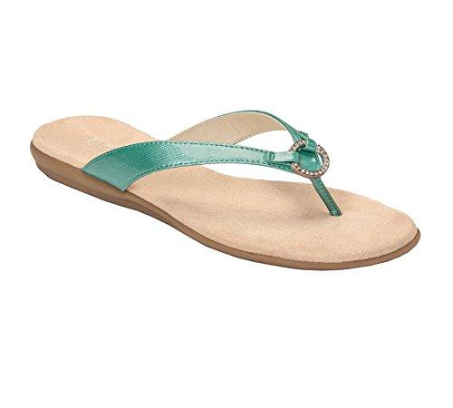 Aerosoles Womens Chlub Member Thong Sandal Light Blue kl8rgP10B