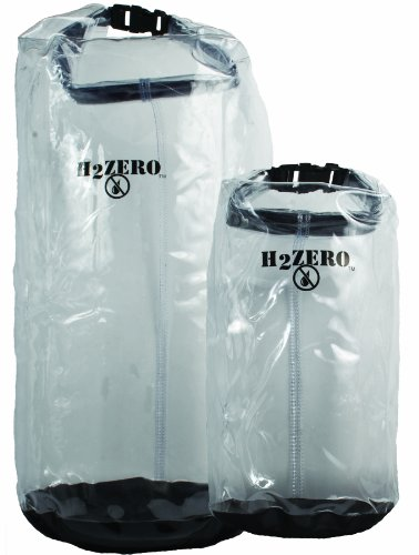 (Seattle Sports H2Zero Opti-Dry Value Bag, Pack of 2 (Clear, Small/Large))