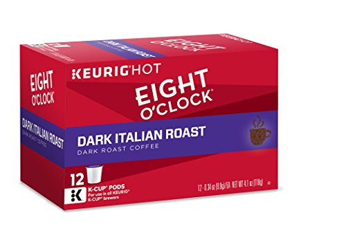 Eight O'Clock Coffee Dark Italian Roast, Keurig K-Cups, 12 Count(Pack of 6) (Italian Roast Dark compare prices)