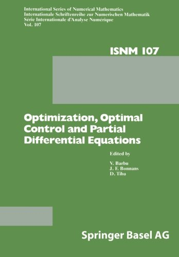 Optimization, Optimal Control and Partial Differential Equations: First Franco-Romanian Conference, Iasi, September 7–11