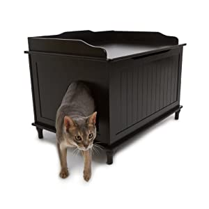 The Designer Catbox Litter Box Enclosure 12