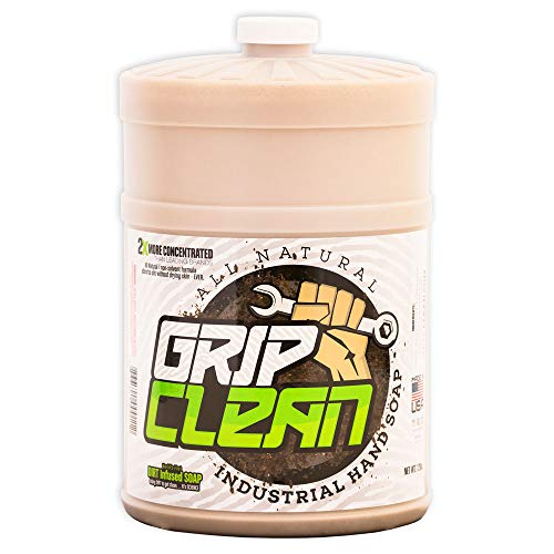 Grip Clean | Dirt Infused Heavy Duty Hand Cleaner - All Natural (1 gal Refill jug) by Grip Clean (Image #7)