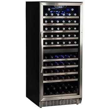 Amazon Com Edgestar Cwr1101dz 110 Bottle Built In Dual