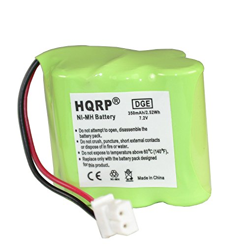HQRP Transmitter Battery for Dt-Systems EDT SERIES Super Trainer Dog Training Collar fits EDT 100, EDT 102 + Coaster