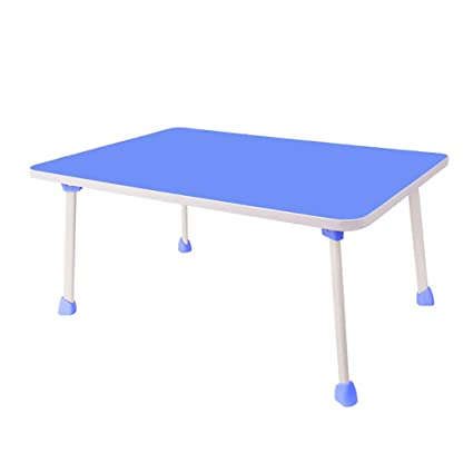 ZHAORU End Tables Lazy Bed With Small Table College Student Folding Table  Dormitory Notebook Study