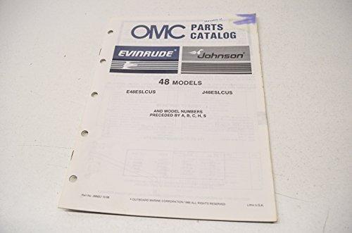alog 48 Models E48ESLCUS J48ESLCUS QTY 1 (Omc Parts Catalog)