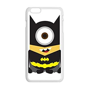 Happy Minions cop Cell Phone Case for Iphone 6 Plus