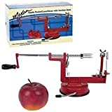 3 en 1 pelador de manzanas, máquina de cortar, rodajas, máquina de extracción del corazón - cortador para fruta o patatas [version:x5.6] by DELIAWINTERFEL