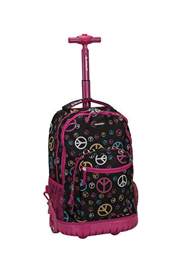 rockland-19-inch-rolling-backpack-peace-one-size