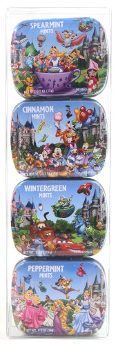 """DISNEY PARKS EXCLUSIVE : """"Disney Characters Variety Pack of Mints"""""""