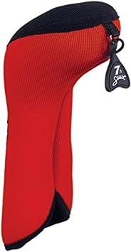 Stealth Club Covers 05040INT Hybrid ID 5-6-7 Golf Club Head Cover, Red/Black