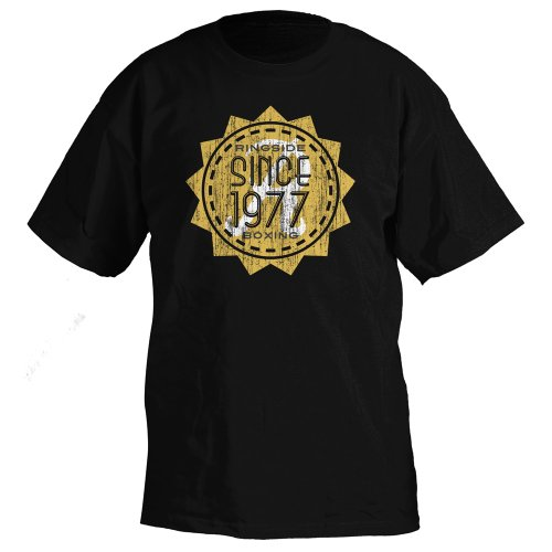 Adult T-shirt 1977 (Ringside Since 1977 T-Shirt (Black, X-Large))