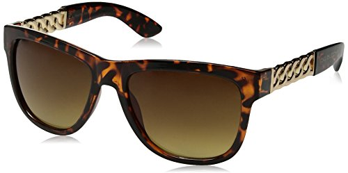 Big Buddha Women's Lulu Rectangular Sunglasses, Tortoise, 56 - Big Sunglasses Buddha