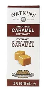 Watkins All Natural Extract, Imitation Caramel, 2 Ounce (Pack of 6) (Packaging may vary)