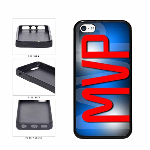 Mvp TPU RUBBER SILICONE Phone Case Back Cover Apple iPhone 5c includes BleuReign(TM) Cloth and Warranty Label