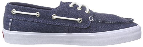 Zapatillas Hombre Vans Chauffeur Sf (washed Black) Washed Ensign Azul