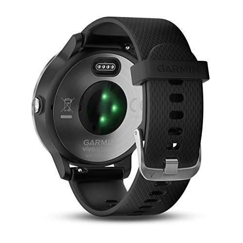 Garmin vivoactive 3 (Black/Stainless) Power Bundle with HD Glass Screen Protectors (x2), PlayBetter USB Wall & Car Charging Adapters | Multisport GPS Smartwatch, Touchscreen, On-Wrist HR, Garmin Pay by PlayBetter (Image #8)