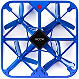 ROVA Flying Selfie Drone with 12MP Camera and HD Video (Blue)