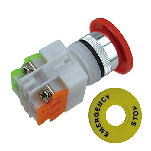 jmaf-2-pcs-red-mushroom-cap-1no-1nc-dpst-emergency-stop-push-button-switch-ac-660v-10a-