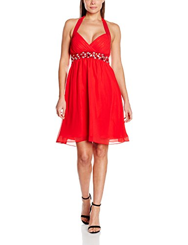 MY EVENING DRESS Emily, Vestido para Mujer Red (Red AH)