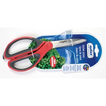 Exceptional Zyliss Kitchen Shears.  Red