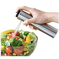 Oil Sprayer for Cooking Stainless Steel Olive Oil Sprayer Bottle Mister Dispenser Air Fryer Small