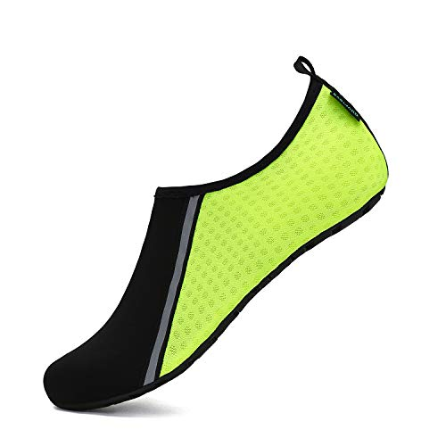 SAGUARO Mens Womens Quick Dry Water Shoes Barefoot Aqua Socks Beach Swim Diving Surf Kayaking Yoga Trip Outdoor Exercise
