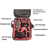 DJXIML FPV Combo Drone Case Bag, Durable Shoulder