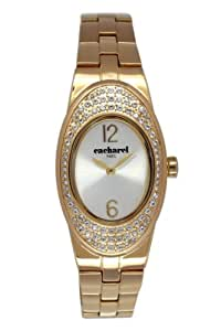 Cacharel Women`s White Dial Metal Band Watch [CLD 008S/1BM]
