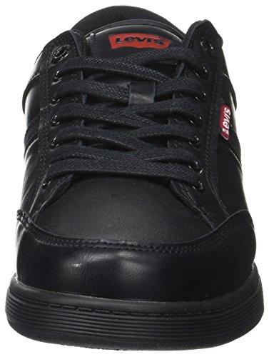 Cypress Black Nero Brillant Levi's Uomo Sneaker zwqFd4d